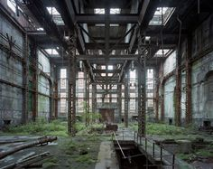 Yves Marchand and Romain Meffre – Industry Derelict Places, Abandoned Places, Land Art, Abandoned Warehouse, Abandoned Factory, Old Abandoned Buildings, Wild Nature, Urban Exploration, Environmental Art