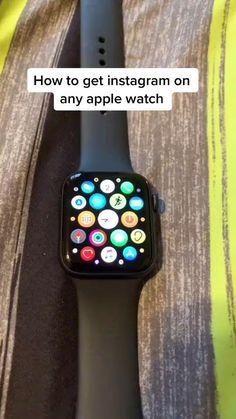 Apple Watch Phone, Apple Watch Hacks, Iphone Watch, Apple Watch Accessories, Iphone Accessories, Amazing Life Hacks, Useful Life Hacks, Macbook Hacks, Apple Watch Fashion