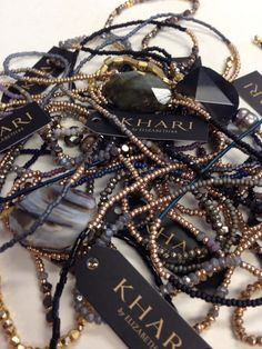 Beaded strands from our signature khari jewelry collection