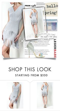 """""""L-B Jadelyn Embellished Draped Bandage Dress"""" by jasmine-monro ❤ liked on Polyvore featuring Sophia Webster, love, dresses, clothes and legerbabe"""