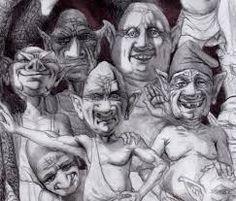 Resultado de imagen para dibujos de arlequines diabolicos para dibujar