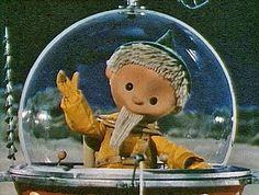 Sandmännchen. The Sandman. Children's tv character from East German state television.