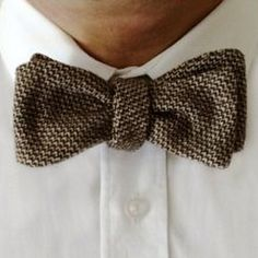 Hipster Tweed Bow Tie from The Grunion Run