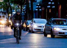 Bike at Night. Stay Safe After Sunset: How to be prepared the next time you get caught in the dark