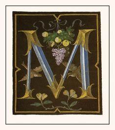 Medieval Illuminated Letters K | illuminated letters