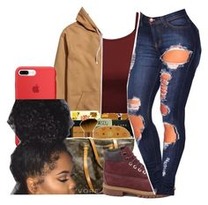 """been a while"" by liveitup-167 ❤ liked on Polyvore featuring Timberland"
