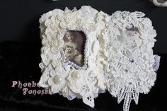 Mini lace book crazy cat lady page 6 and 7