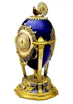 ファベルジェの卵 鳩時計 1900