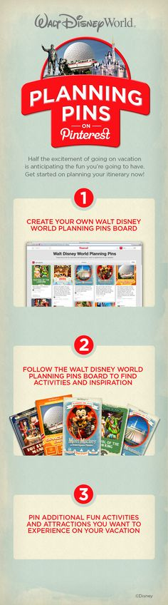 Plan your next Walt Disney World vacation with Planning Pins!