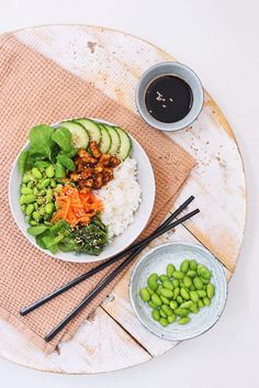 Please visit our website for Grilling Recipes, Veggie Recipes, Asian Recipes, Vegetarian Recipes, Dinner Recipes, Healthy Recipes, Poke Bowl, Edamame, Tempeh