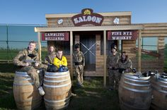 Play our Gold Rush gamezone at Delta Force in Sweden! #SouthStockholm #paintball