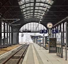 Wiesbaden, Germany railway station