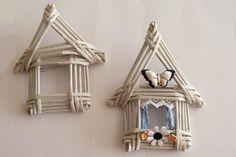 Fotopostup na papierové pletenie - pletený domček - foto postup