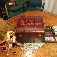 Here are the instructions for a #DIY Wizard's Monopoly or Harry Potter Monopoly game. #harrypotter #monopoly