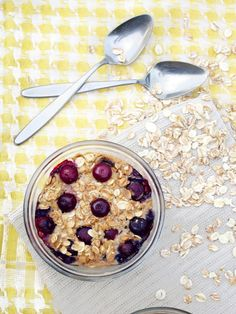 Blueberry Muffin Baked Oatmeal | The Oatmeal Artist