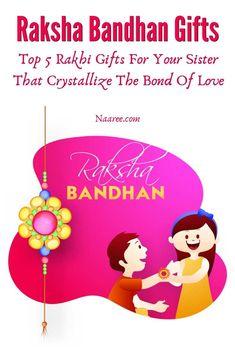 Rakhi Gifts For Sister, Gifts For Your Sister, Sister Gifts, Love Gifts, Diy Gifts, Best Gifts, Gift For Raksha Bandhan, Raksha Bandhan Greetings, Rakhi Cards