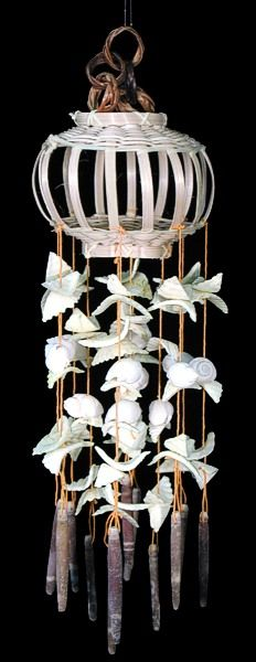 Shell windchimes, oh so delicate