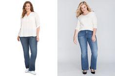 Wardrobe Staples: Save vs Splurge - This is Meagan Kerr Slacks, Trousers, Pants, Bootleg Jeans, Tights, Leggings, Wild Child, Wardrobe Staples, Lane Bryant