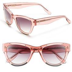 Jason Wu 'Nadja' 51mm Sunglasses (2865 MAD) ❤ liked on Polyvore featuring accessories, eyewear, sunglasses, petal, jason wu glasses, jason wu, jason wu eyewear, uv protection sunglasses and uv protection glasses
