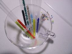 How-To: Convert Drinking Straws to Bead Storage
