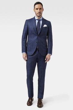 Hackett Mayfair Classic Windowpane Suit