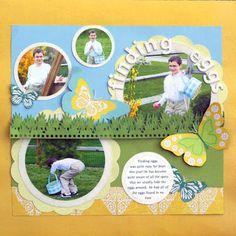 Ideas for Scrapbookers: Flower Swirl Template!