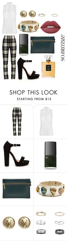 """""""Sem título #383"""" by bia-melo ❤ liked on Polyvore featuring MaxMara, MICHAEL Michael Kors, NARS Cosmetics, Victoria Beckham, Chanel, Miss Selfridge and Lime Crime"""
