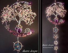 immortelle tree / wire tree / wire sculpture / tree of life /