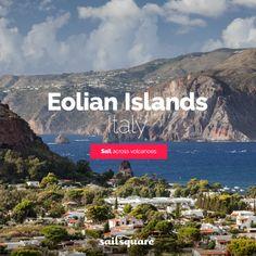 #Eolian islands #Italy #sailing  www.sailsquare.com