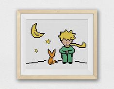 BOGO FREE! The Little Prince Cross Stitch Pattern, Needlecraft Le Petit Prince Embroidery Needlework PDF Instant Download #021-1 by StitchLine on Etsy https://www.etsy.com/listing/241950129/bogo-free-the-little-prince-cross-stitch