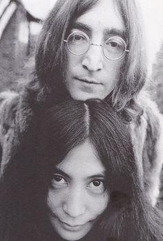 John Lennon & Yoko Ono http://www.tunecube.com/profile/Bobby_Smith_Band #JohnLennon #TheBeatles #Beatles