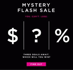 Loft Mystery Flash Sale animated gif email