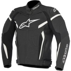 Jacke ALPINESTARS Gp Plus R V2 Black / White