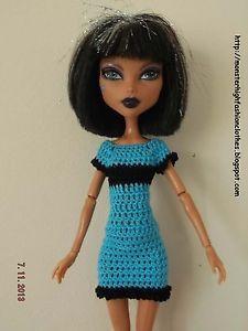 handmade Monster High clothes/ropa/kleidung/vêtements v106 (NOT DOLL)