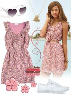 California Girl Style Summer Dresses