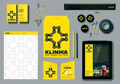 Klinika Bike Service Branding by Leo Vinkovic, via Behance