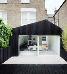 Dove House - A project by Gundry.  I love the distinction between old and new and the way the colour scheme links both elements and brings it all together.
