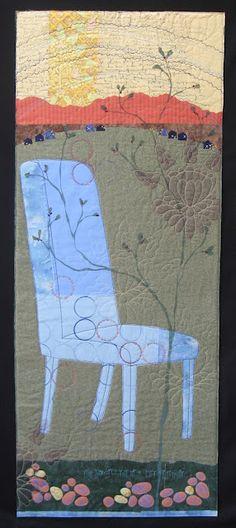 Blue Chair Mantra, Deborah Boschert -wonderful details!