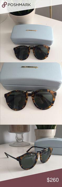 """Karen Walker """"Harvest"""" sunglasses in tortoise Only worn once. Perfect condition. Karen Walker Accessories Sunglasses"""