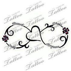 Image result for children's names tattoos for women