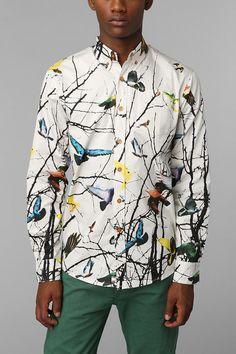 Staple Twain Button-Down Shirt  $66.00