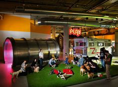Here Are 12 Of The Coolest Offices Ever. Seriously, I'll Bet The Employees Hate Going Home.
