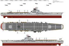 Taiho-class Aircraft Carrier (1944) by ijnfleetadmiral