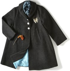 dagmar daley vintage | dagmar daley — swing coat- charcoal