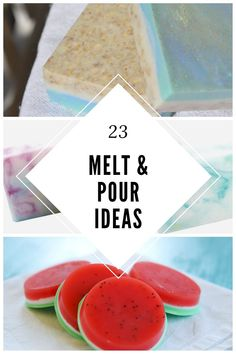 23 Advanced melt and pour soap techniques. Get ideas for new designs with these tutorials. Learn how to make shaped soaps, use mica, different molds, and other ways to make new designs with these recipes. Make DIY melt and pour soap in a fun new way. Handmade Soap Recipes, Soap Making Recipes, Soap Melt And Pour, Christmas Soap, Decorative Soaps, Soap Tutorial, Cupcake Soap, Exfoliating Soap, Honey Soap