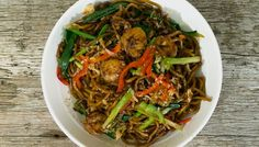 Asian Spicy Curry - Shrimp Lo Mein