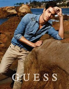 Wilhelmina Models: Gui Fedrizzi is the face of GUESS Summer '14 men's campaign. Credits: Art Direction by Paul Marciano, Photography by Yu Tsai. - See more at: wilhelminanews.com