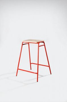 David Irwin Working Girl stool, the perfect thing to perch on top of and flap your arms. #ChirpChirp