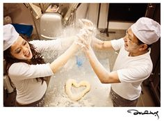 Pre-Wedding: Baking with Love | Wedding Guide Asia - Find your wedding photographer, wedding planner, gowns and more!