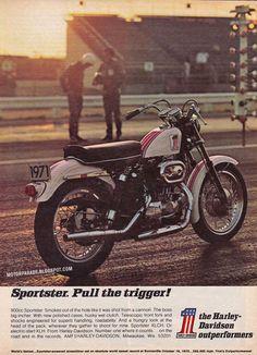Vintage Brochures: Harley-Davidson Sportster 900 1971 (Usa)